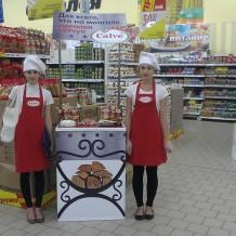 Дегустация соусов «Calve» в гипермаркете «Реал»